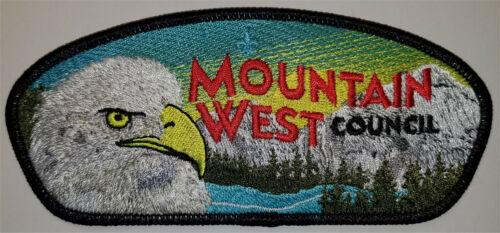 CSP - MOUNTAIN WEST COUNCIL - S-XX (NEW COUNCIL) - BSA SINCE 1910 BACK