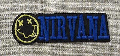 NIRVANA  Iron On/Sew On Patch Emo Goth Punk Rock