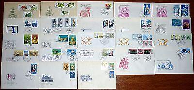 23x FDC Brief DDR Sammlung Slg Posten Lot Ersttagsbrief 1978 Schmuck (340