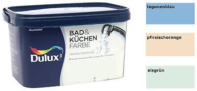 Dulux Bad & Küchen Wandfarbe 10L Farbwahl Badfarbe Küchenfarbe anti Schimmel