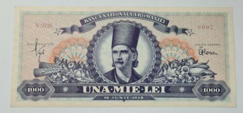 Romania  Banknote 1000 Lei - 1948