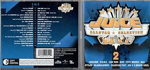 JUICE-ALLSTAR-SELECTION-2-CD-STYLES-GZA-MYSTYKAL-LOOPTROOP-NAS-DMX-NATURE-2002