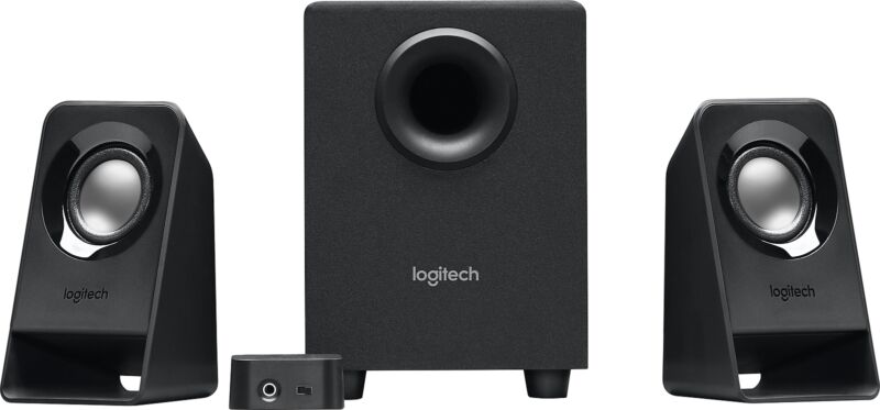 Logitech - z213 2.0 Multimedia Speaker System (3-Piece)