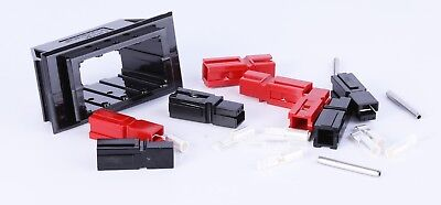 Anderson Power 1470g3 Chassis Mount For 4 Powerpoles Sets With 8 Conductors
