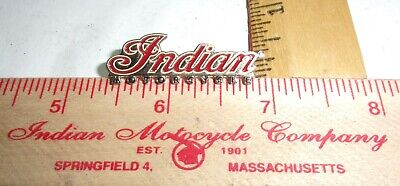 vintage Indian pin old biker vest collectible pinback USA motorcycle memorabilia