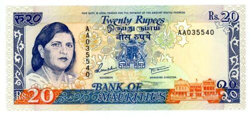 Mauritius ... P-36 ... 20 Rupees ... 1986 ... Gem *UNC*
