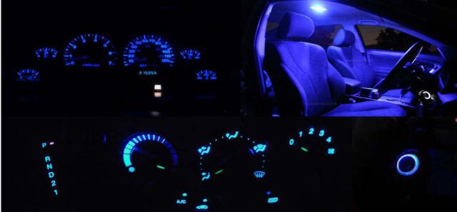Mitsubishi Pajero NH NJ NK NL Full LED Light Conversion Kit - Dash Cluster, AC..