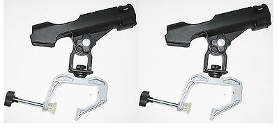 One Pair of Brand New Zaltana Clamp on rods holder with twist lock RH2x2