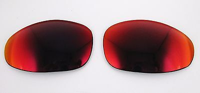 NEW Oakley Juliet X Metal TORCH IRIDIUM Authentic OEM Replacement Lenses Red for sale  Shipping to Canada