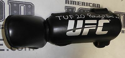 Rowdy Bec Rawlings Signed Personally Worn Used Tuf 20 Ufc Kick Pad Psa Dna Auto
