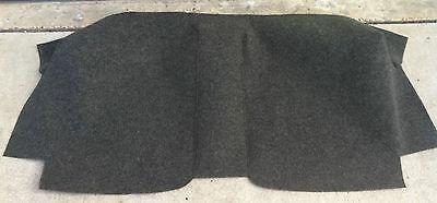 Porsche 914 914-6 70-76 Charcoal Gray Perlon Felt Interior Firewall Carpet