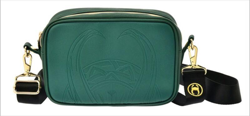 Disney Store Japan Marvel Loki Shoulder Bag Green Marvel Studios Drama Series