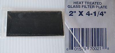 Welding Helmet Glass Filter Lens Plate 2 X 4-14 Shade 8 Dark Qty 3