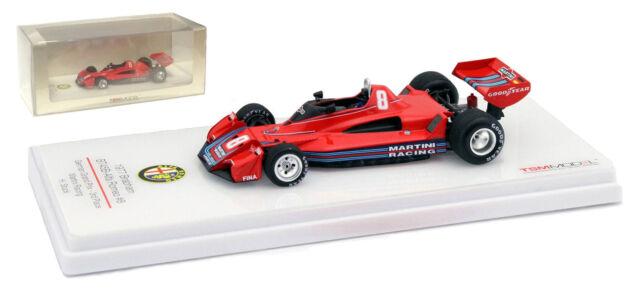 Truescale Brabham BT45B #8 'Martini' 3rd German GP 1977 - H J Stuck 1/43 Scale