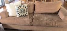 2 seater comfy sofa,  taupe coloured suede feel lounge Dee Why Manly Area Preview