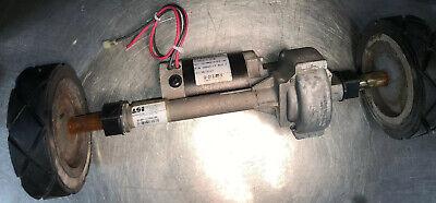 Genuine Original Nss Wrangler Model 2625 Floor Scrubber Transaxle Kit W Wheels