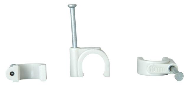 Kopp Iso Schellen Klemmschellen 7 bis 10 mm grau Mehrfachpack 50 Stück Neuware