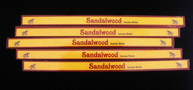 40 Sticks 5 Packs - Kamini SANDALWOOD - Fragrance Incense Scented Insence Bulk
