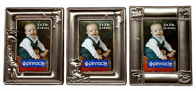 Pinnacle Mini Baby Picture Decorative Frames Pewter 2