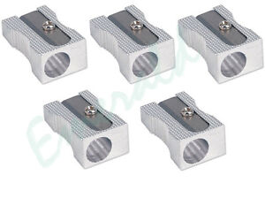 5 x Quality Metal Pencil Sharpeners - Same Day Dispatch