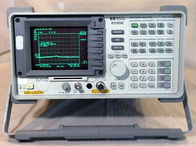 Keysightagilenthp 8595e Portable Spectrum Analyzer 9 Khz To 6.5 Ghz
