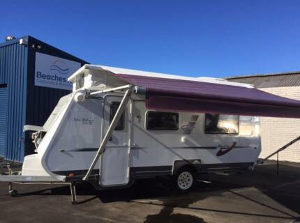 Avan Rhys Mk2 Pop-top caravan with Single Beds Brookvale Manly Area Preview