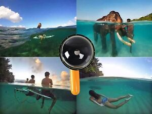 Dome Port Underwater Diving Camera Lens Cover Accessories for Gopro Hero 4 3+ 3