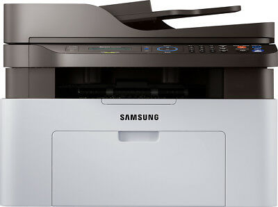 Samsung - Xpress M2070FW Wireless Black-and-White All-In-One Laser Printer -