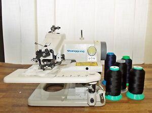 Blindstich  Nähmaschine  GC-500-1 + 5 St. Nähgarn