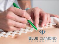 Blue Diamond Acupuncture - back pain, headaches, stress relief and more - home visits when required