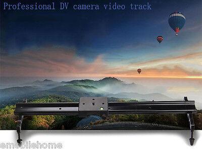 Portable 60CM DSLR DV Camera Damping Track Dolly Slider Video Stabilizer System
