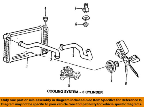 [SCHEMATICS_4CA]  GM OEM-Engine Coolant Thermostat 12632948 | eBay | Gm Engine Coolant Diagram |  | eBay
