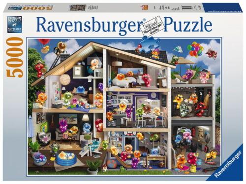 5000 Teile Ravensburger Puzzle Gelini Puppenhaus 17434