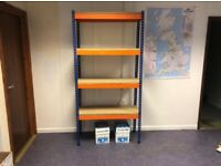 NEW EXCEL STORAGE SYSTEM WAREHOUSE SHORTSPAN RACKING BAY (Brentwood Branch)