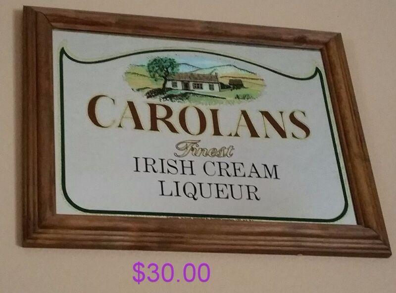 CAROLANS IRISH CREAM LIQUEUR MIRROR