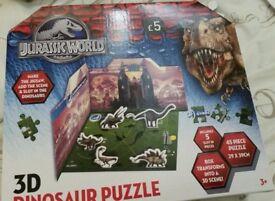 Brand new Christmas present, dinosaur puzzle