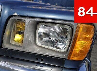 ++Mercedes W126 C126 S-Klasse 2x Scheinwerfer US EU E-Prüfzeichen Umrüstung++