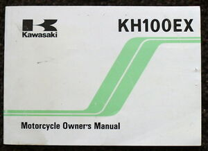 KAWASAKI-MOTORCYCLE-HANDBOOK-1990-OWNERS-MANUAL-GREEN