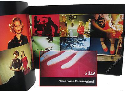 PULP TOUR PROGRAMME 1997 / 98 The Professional TOUR- New UK TOUR BOOK