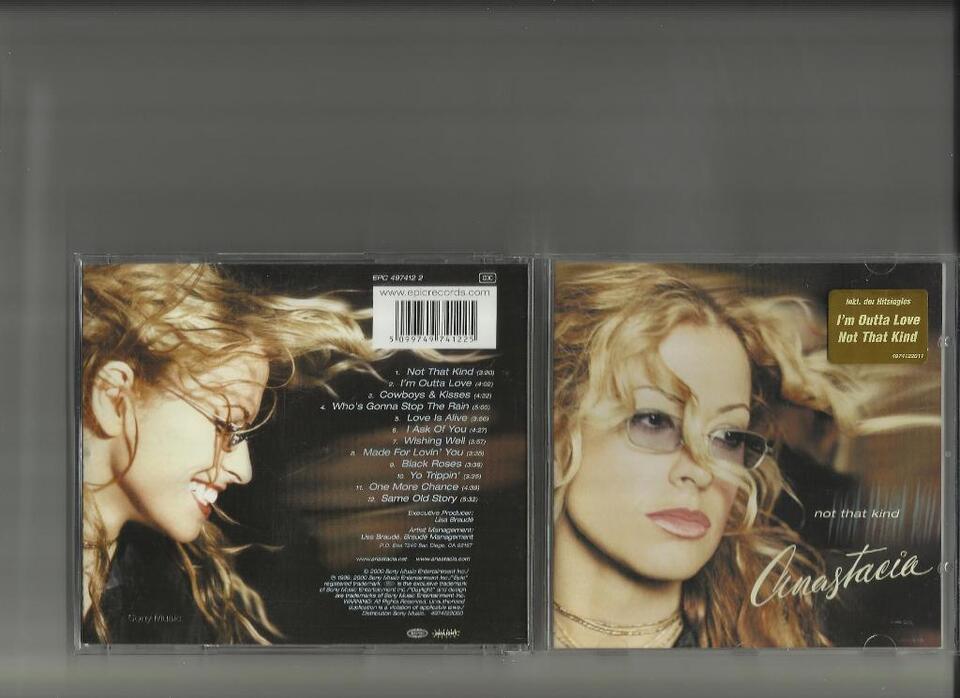 Anastacia CD Not that kind in Bad Salzuflen