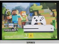 Microsoft Xbox One S Minecraft Favorites Bundle 500GB White Console