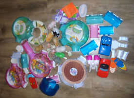 Large selection of GoGo hamsters and accessories