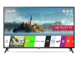 LG 43LJ614V 43 Inch Smart Full HD TVby