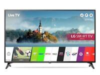 LG 43LJ614V 43 Inch Smart Full HD TVby