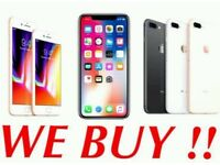 WANTED Iphone x, Iphone 8 (+), Iphone 7 (+) Immediate Cash PAID! *BEST PRICE*