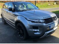 TOP SPEC RANGE ROVER EVOQUE DYNAMIC SD4 4WD - 2013 - ONE PRIVATE OWNER