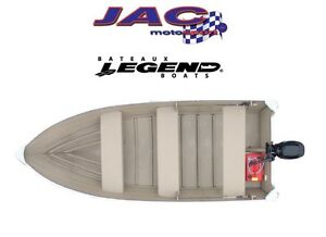 2015 legend boats 14 WideBody Bench 19.81$*/sem** Defiez nos pri