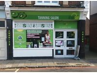 Tanning and Beauty salon for sale