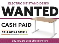 Electric Sit Stand Desks Wanted