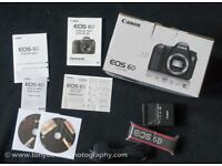 Canon 6D Full Frame Digital Camera in Carefully Used Condition